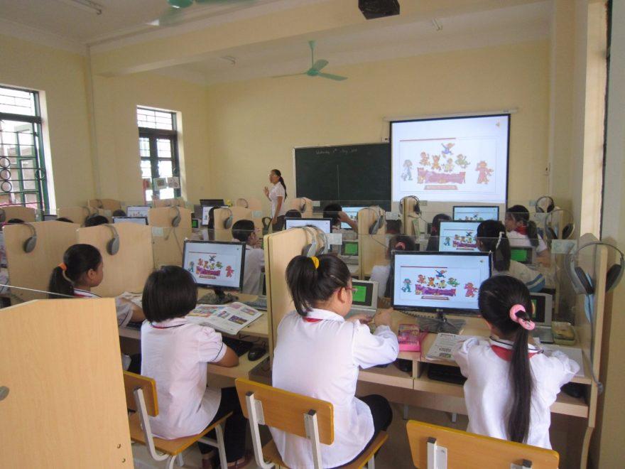 ứng dụng công nghệ thông tin trong giáo dục
