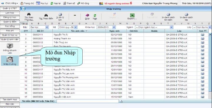Lợi ích của ứng dụng CNTT trong quản lý sinh viên